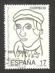 Sellos de Europa - España -  3224 - V centº del nacimiento de Juan Luis Vives