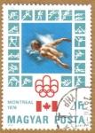 Sellos de Europa - Hungría -  Juegos Olimpicos Montreal