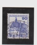 Stamps Germany -  burg vishering