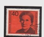 Sellos de Europa - Alemania -  gertrud baumer 1873-1954