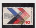 Sellos de Europa - Alemania -  X aniv. cooperación franco-alemana