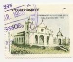 Stamps Paraguay -  Centenario de la Iglesia de la Encarnación