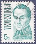 Stamps Venezuela -  VENEZUELA Básico verde 0,05 (2)