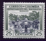 Stamps : America : Colombia :  Banano