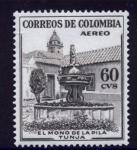 Stamps : America : Colombia :  El mono de la pila