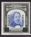Stamps : America : Colombia :  José Jeronimo Triana