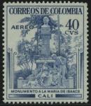 Stamps : America : Colombia :  Monumento a la Maria de Isaacs