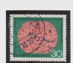 Sellos de Europa - Alemania -  100 años de metereologia internacional
