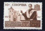 Stamps : America : Colombia :  Monseñor Carrasquilla