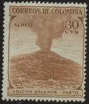 Stamps : America : Colombia :  Volcan Galeras