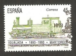 Sellos de Europa - España -  3265 - Centº del ferrocarril Igualada Martorell