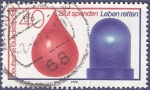 Stamps Germany -  ALEMANIA Bult spenden Leben retten 40