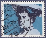 Sellos de Europa - Alemania -  ALEMANIA Gertrud Von Le Fort 70 (1)