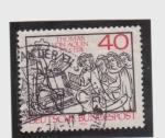 Stamps Germany -  tomas de aquino  +7-3-1274