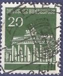Stamps Germany -  ALEMANIA Puerta de Brandeburgo 20
