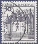 Stamps : Europe : Germany :  ALEMANIA Schloss 10