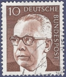 Stamps : Europe : Germany :  ALEMANIA Básica 10