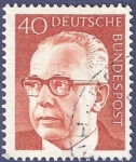 Stamps : Europe : Germany :  ALEMANIA Básica 40