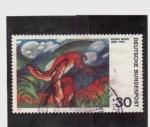 Stamps Germany -  franz marc 1880-1916