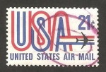 Sellos de America - Estados Unidos -  USA avión