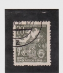 Stamps Germany -  cultura