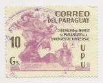 Stamps Paraguay -  Centenario del ingreso de Paraguay a la Unión Postal Universal