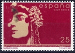 Sellos de Europa - España -  3152 Mujeres españolas famosas,Margarita Xirgu.
