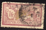 Stamps France -  Type Merson