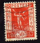 Stamps France -  Paris Expos. internacional