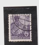 Stamps Germany -  altos hornos