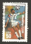 Stamps : America : United_States :  mundial de fútbol USA 94