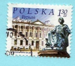 Stamps of the world : Poland :  Ciudad de Poznan