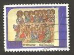 Stamps Vatican City -  Cerca del Año Santo 2000, La Cena