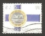 Stamps Europe - Vatican City -  el euro, moneda única para 15 paises europeos, moneda de Finlandia