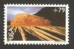 Sellos de America - Estados Unidos -  140 - Parque Nacional de Zion