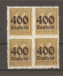 Stamps Germany -  Inflaccion Alemana.