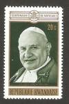 Stamps : Africa : Rwanda :  Centº del Concilio Vaticano I, Juan XXIII