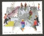 Stamps Italy -  festival internacional de filatelia en roma, italia 2009