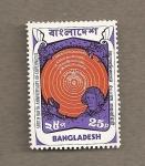 Sellos de Asia - Bangladesh -  500 Aniv del nacimiento de Copérnico
