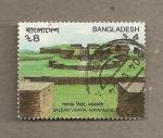 Sellos de Asia - Bangladesh -  Ruinas
