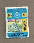 Sellos de Asia - Bangladesh -  Día de la alimentación
