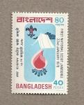 Stamps Asia - Bangladesh -  1era asamblea de boy scouts
