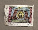 Stamps Portugal -  Navidad 1977