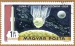 Sellos de Europa - Hungría -  Espacio