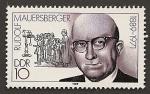 Sellos de Europa - Alemania -  Rudolf Mauersberger - compositor