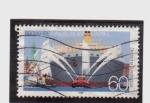 Stamps Germany -  800 años puerto de hamburgo