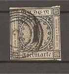 Stamps Germany -  Baden./ Gran Ducado.