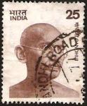 Stamps India -  509 - Mahatma Gandhi