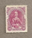 Stamps Nicaragua -  V Centenario del nacimiento Isabel la Católica