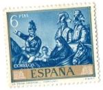 Sellos del Mundo : Europa : España : La reina Cristina (Fortuny)